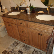 Traditional Bathroom by ocean city kitchen and bath
