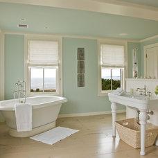 Traditional Bathroom by Anthony Catalfano Interiors Inc.