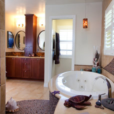 Eclectic Bathroom by Marrokal Design & Remodeling