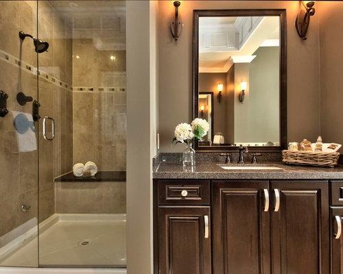 Dark Brown Bathroom: Dark Brown Vanity