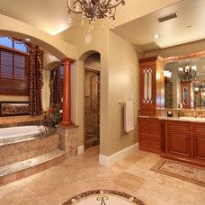 Traditional Bathroom by Eric Trabert & Associates