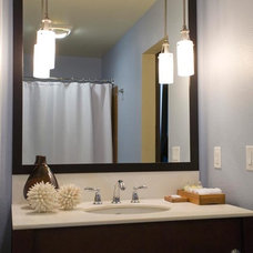 Modern Bathroom by nicole helene designs