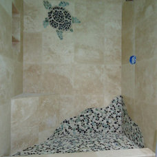Traditional Bathroom by Stone Element