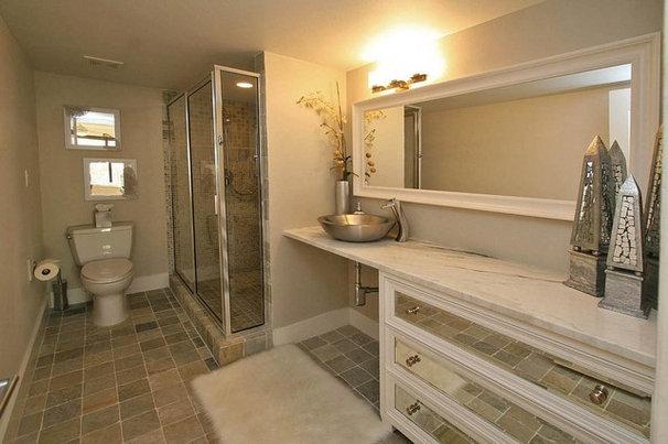 Modern Bathroom by Pathfinder Group Designs Inc.