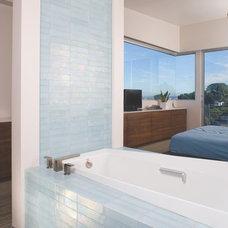Bathroom by Oceanside Glasstile