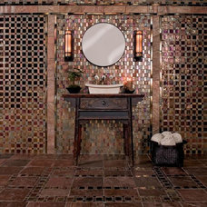 Eclectic Bathroom by Oceanside Glasstile
