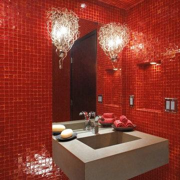 Oceanside Glasstile Red 777 Bath