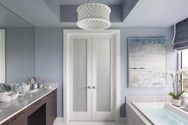 Contemporary Bathroom By Lisa Michael Interiors