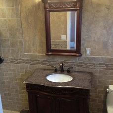 Traditional Bathroom by Jim Cuccias And Sons General Contractors