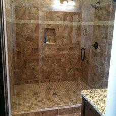 Contemporary Bathroom by Hall Design Build