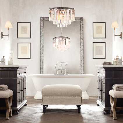 traditional bathroom by Restoration Hardware