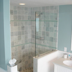 traditional bathroom by Sam George Construction