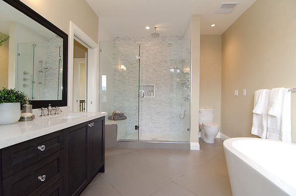 Contemporary Bathroom by Odenza Homes Ltd