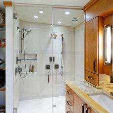 Modern Bathroom by Karlovec & Company Design Build/Remodel