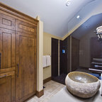 OKANAGAN LOG HOME - Rustic - Laundry Room - Other - by Sticks and Stones Design Group inc.
