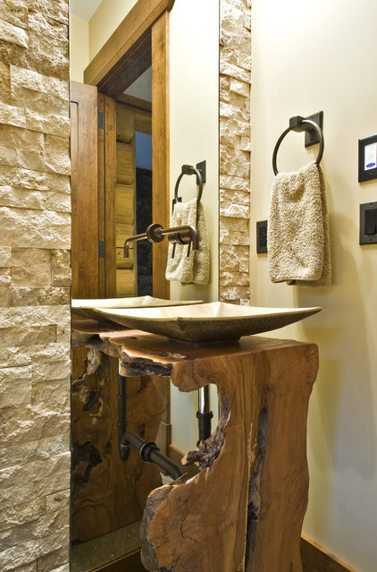 modern bathroom by Sticks and Stones Design Group inc.