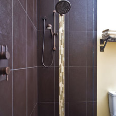 Rustic Bathroom by Sticks and Stones Design Group inc.