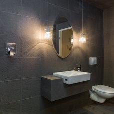 Modern Bathroom by Sunterra Custom Homes