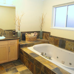 traditional bathroom by Sunterra Custom Homes