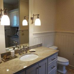 Oklahoma city traditional beadboard bathroom design ideas for Bathroom remodeling oklahoma city