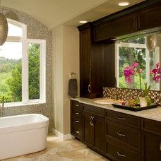 Contemporary Bathroom by Choice Construction
