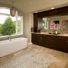 Contemporary Bathroom by Choice Construction