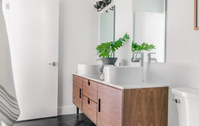 Bathroom of the Week: Scandinavian Modern Style on a Budget