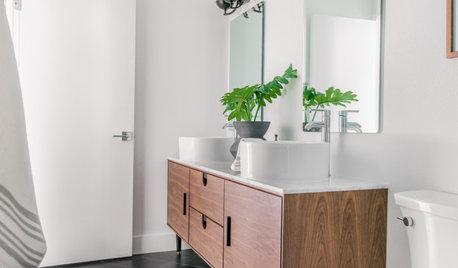 Bathroom of the Week: Scandinavian Modern Style on a Budget