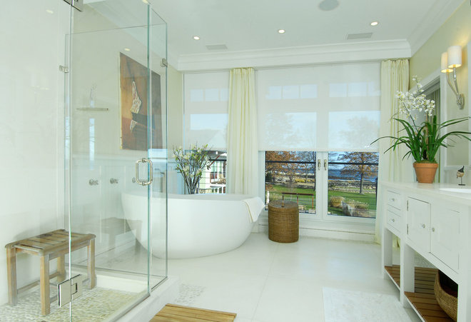 Eclectic Bathroom by Realm