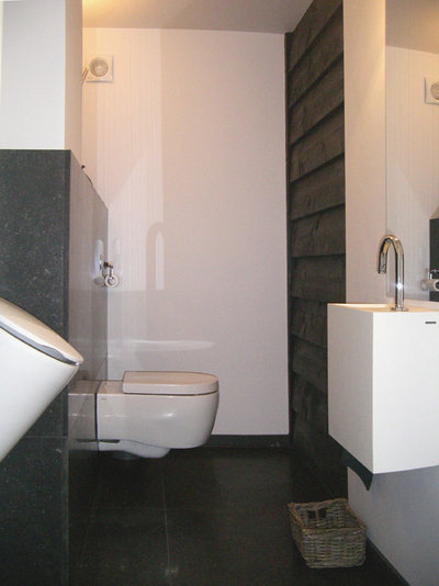 Contemporary Bathroom Old Meets New for Dutch Monument