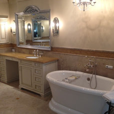 Traditional Bathroom by RS Construction