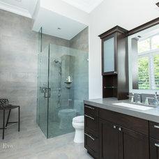 Modern Bathroom by Rachel Eve Design, Inc.