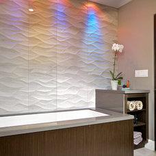 Contemporary Bathroom by Marrokal Design & Remodeling