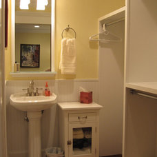 Traditional Bathroom by Monique Jacqueline Design