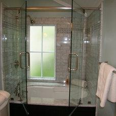 Traditional Bathroom by Monique Jacqueline Design