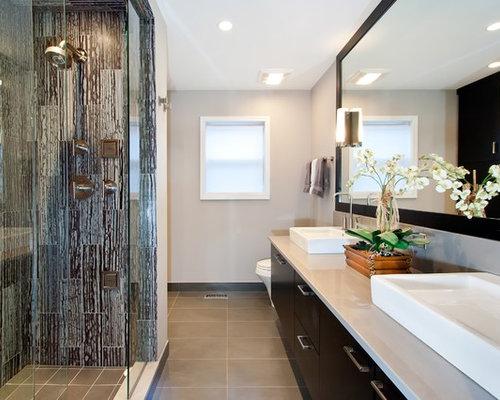 Textured Shower Wall | Houzz