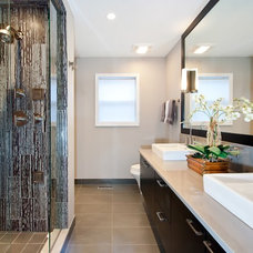 Modern Bathroom by Elizabeth Taich Design