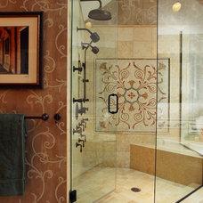 Traditional Bathroom by Bud Dietrich, AIA