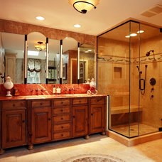 Traditional Bathroom by Bud Dietrich, AIA