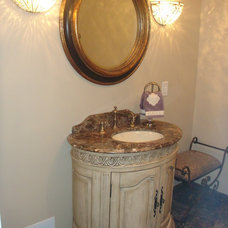 Mediterranean Bathroom Old World Charm