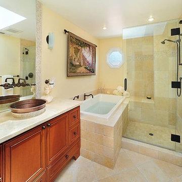 Old World/Contemporary Bath