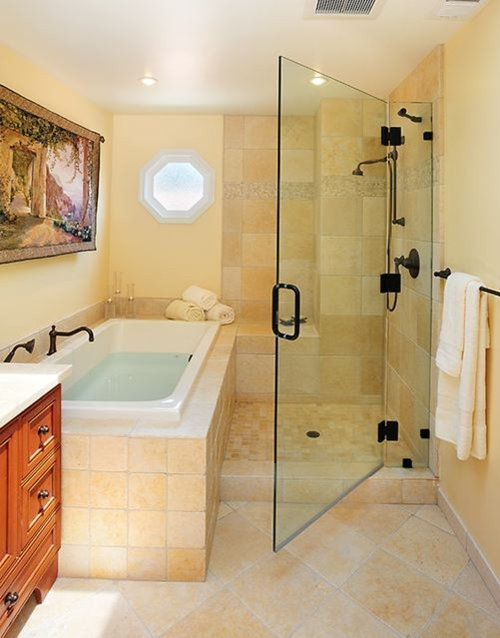 Separate Shower And Tub Home Design Ideas Pictures
