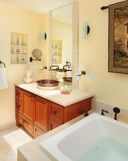 Eclectic Bathroom by Susan M. Davis