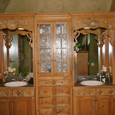Traditional Bathroom by Marc Ekhause Home Builder and Custom Renovations