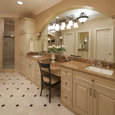 Traditional Bathroom by Meredith Ericksen