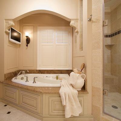 Example of a classic corner bathtub design in DC Metro