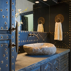 Eclectic Bathroom by Colas Moore Artisan Group