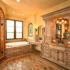 Mediterranean Bathroom by Martin Perri Interiors, Inc.