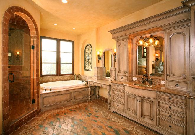 Mediterranean Bathroom by Martin Perri Interiors, Inc.