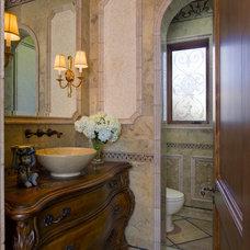 Mediterranean Bathroom by SoCal Contractor